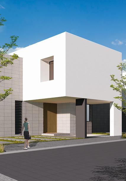 Casa en Amara Grand - Juriquilla Modelo A Fachada
