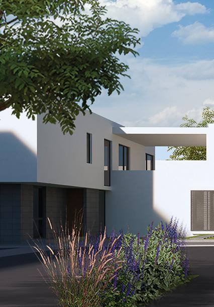 Casa en Amara Grand - Juriquilla Modelo D1 Fachada