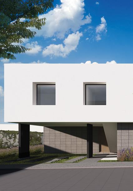 Casa en Amara Grand - Juriquilla Modelo E Fachada