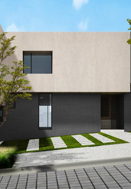 Casa en Ambrosía - Juriquilla Modelo A Fachada
