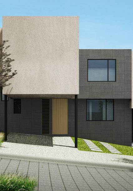 Casa en Ambrosía - Juriquilla Modelo B Fachada