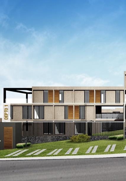 Casa en Ambrosía - Juriquilla Prototipo 1 Fachada