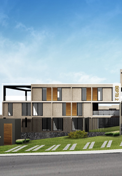 Casa en Ambrosía - Juriquilla Prototipo 2 Fachada