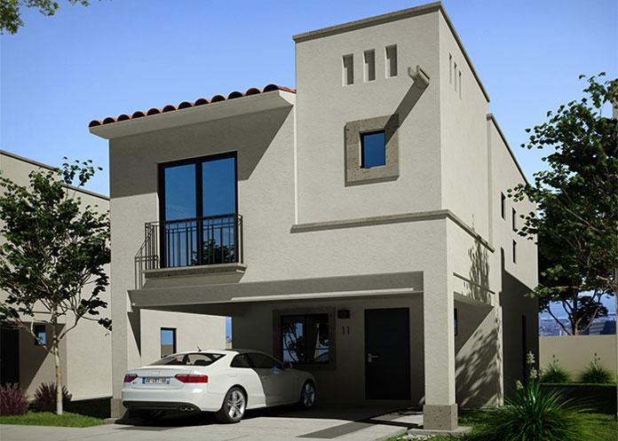 Casa en Celeste Modelo Genova