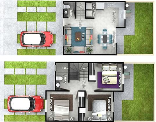 Casa en Ciudad Marqués Plano Tiara