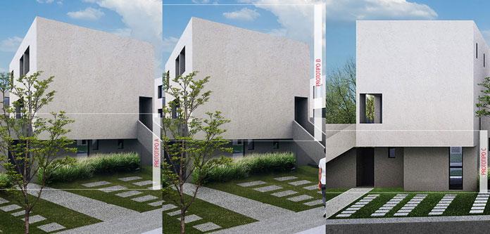Casa en El Motivo - Zákia Modelo A B C Fachada