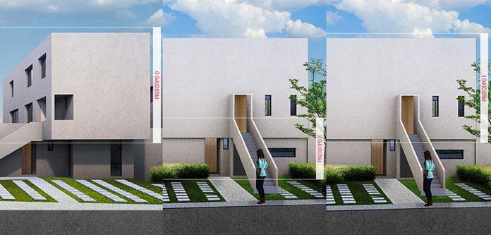 Casa en El Motivo - Zákia Modelo D E F Fachada