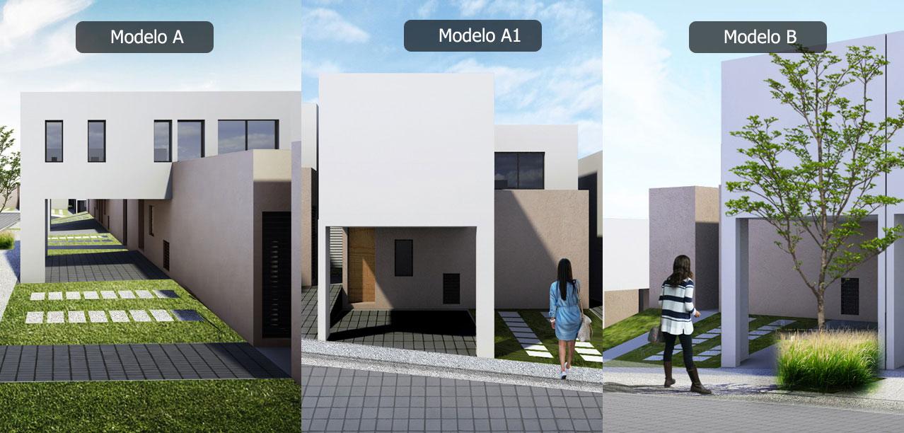 Casa en Inspira Paseo Miró - Zibatá Modelo A A1 B Fachada