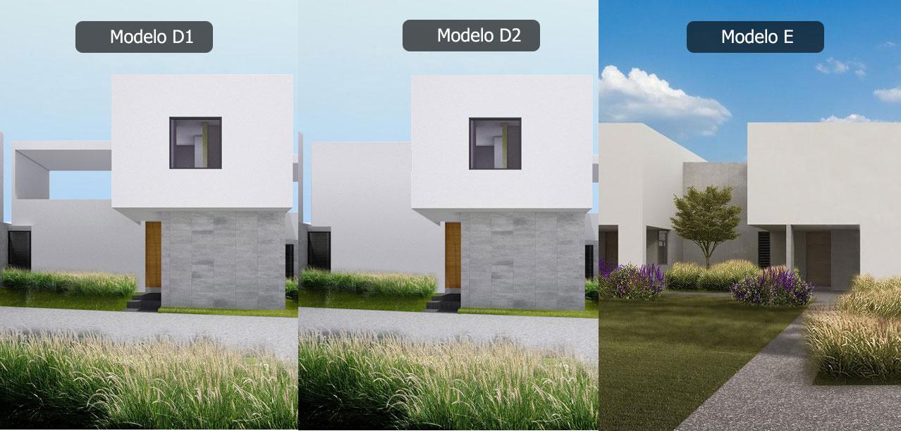 Casa en Inspira Paseo Monet - Zibatá Modelo D1 D2 E