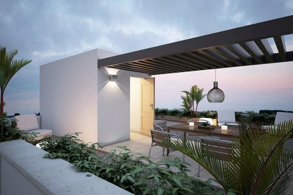Casa en Punta Cuarzo Residencial Roof Garden v5