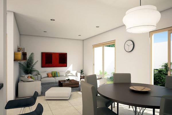 Casa en Punta Cuarzo Residencial Sala v5