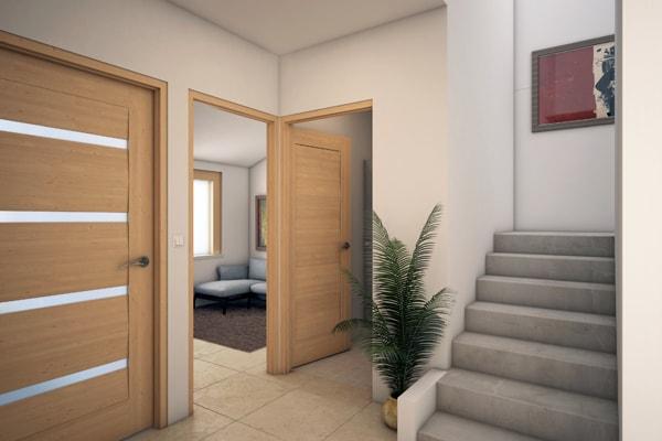Casa en Punta Cuarzo Residencial Vestibulo v5