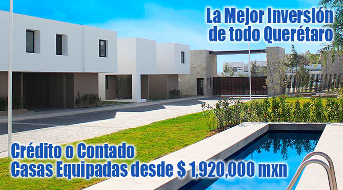 Casas Querétaro banner Caisa