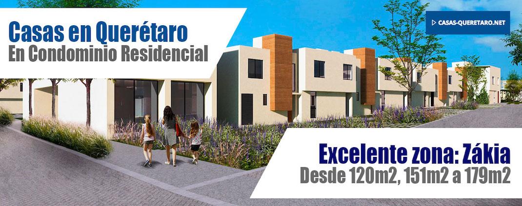 Casas en Zákia 120m2 150m2 179m2 Querétaro